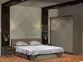 Спалня с плъзгащ гардероб  по поръчка, град Пловдив 0101